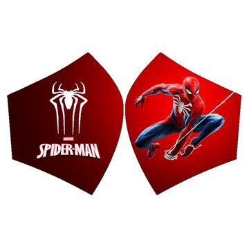 Mascarilla Spiderman rojo con colgado