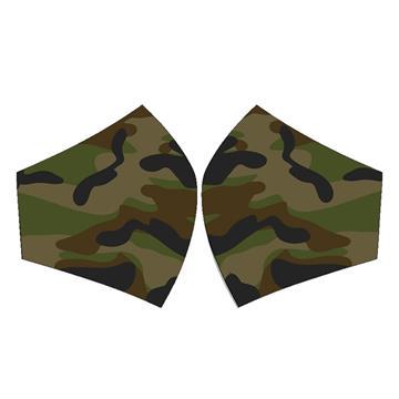 Mascarilla Camuflaje Militar