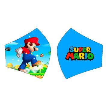 Mascarilla Super Mario Bros.