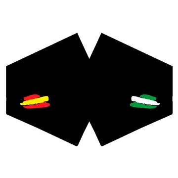 Mascarilla Banderas España y Andalucia