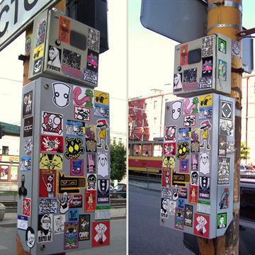 Stickers para Exterior (en pliegos)