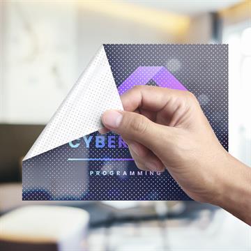 Vinilo Microperforado Polimérico